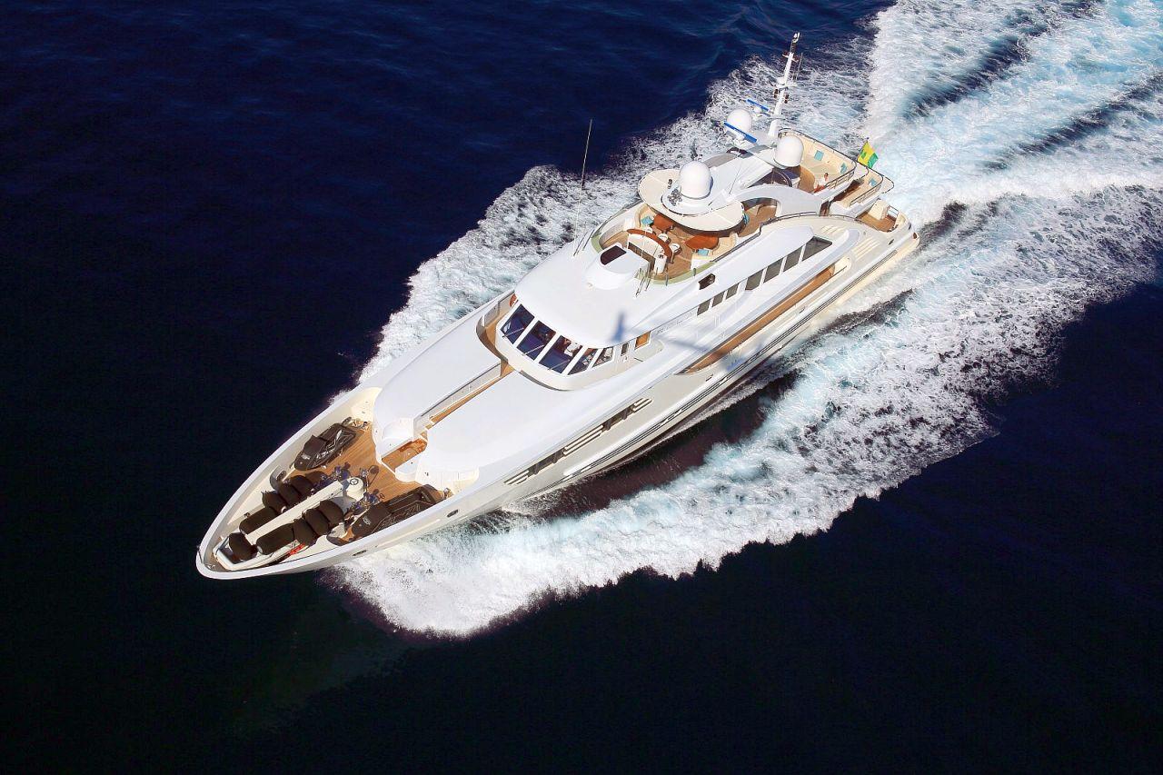 ISA 47.5m Trideck Superyacht