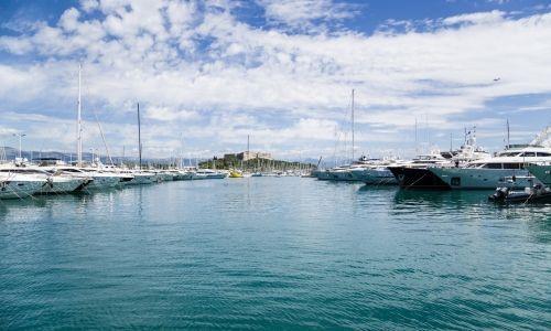 Antibes - Port Vauban, France