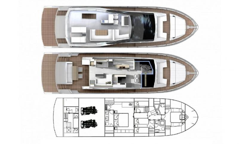 Astondoa 66 Flybridge (New)