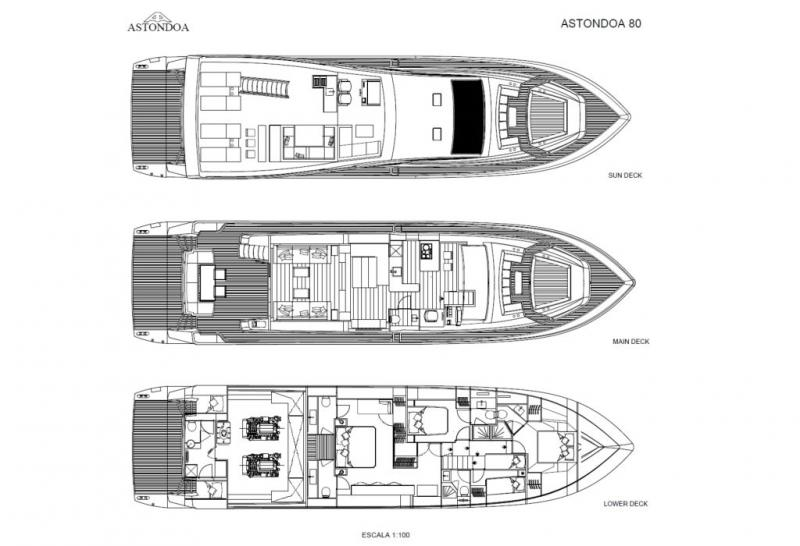 Astondoa 80 Flybridge (Neuf)