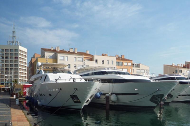 Cap d'Agde Port, France