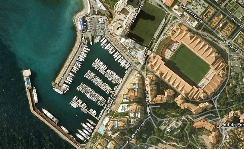 Cap d'Ail Port, France