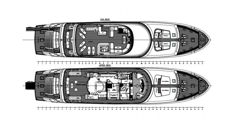 ITALIA SUPER YACHT 38M (Neuf)