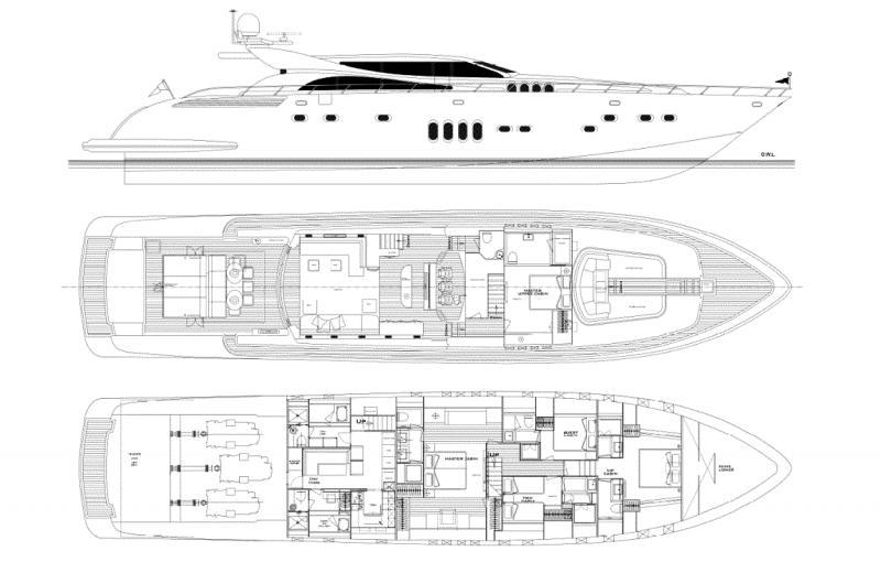 Italyachts 34м