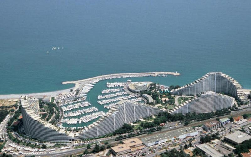 Marina Baie des Anges, France