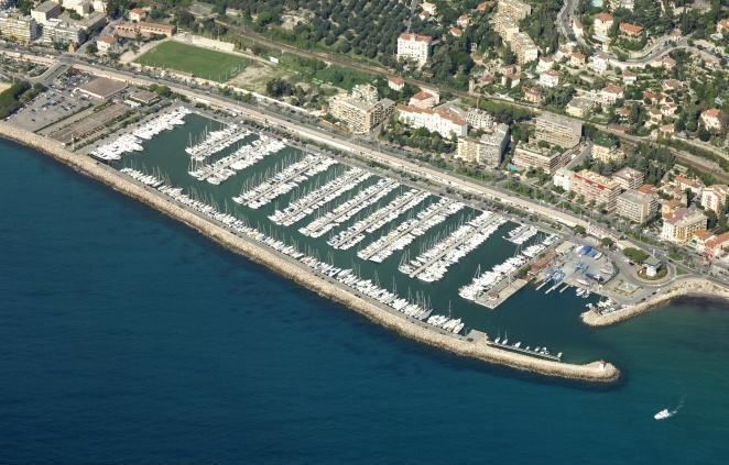 Menton Garavan Port, France