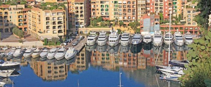 Monaco - Port of Fontvielle