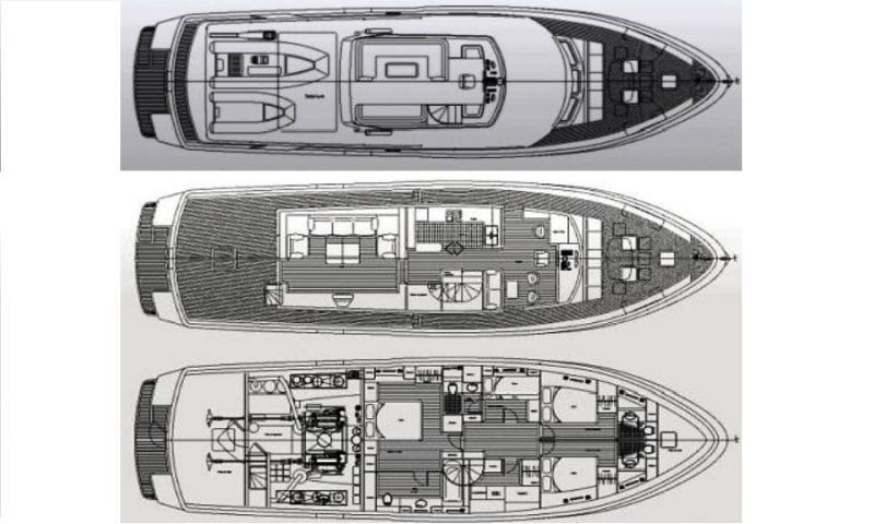 Marcelo Penna 70 Trawler (2002)