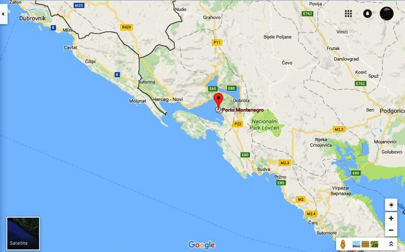 Porto Montenegro Karte.Porto Montenegro Marina Montenegro Yachts Invest