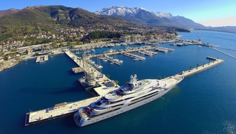 Porto Montenegro Marina, Montenegro