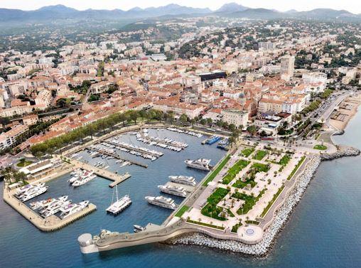 Saint Raphael Port, France