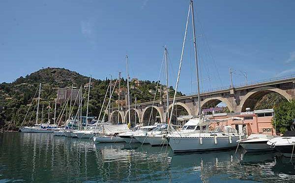Port of la Rague, France