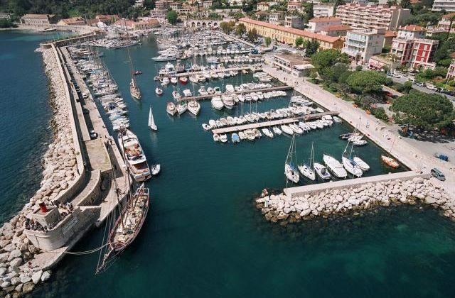 Port Of Villefranche, France