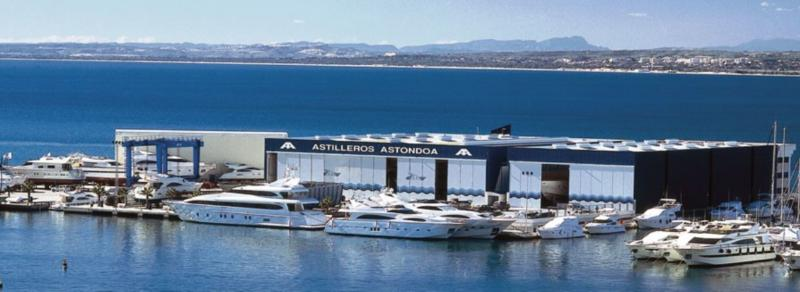 ASTONDOA: Best Shipyard of the Year at the 2016 World Yachts Trophies Awards