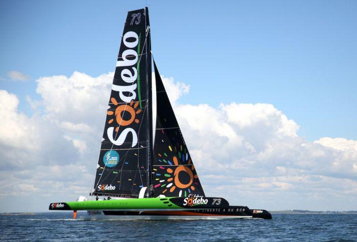 Thomas COVILLE Beats the Record Sailing Solo Around the World