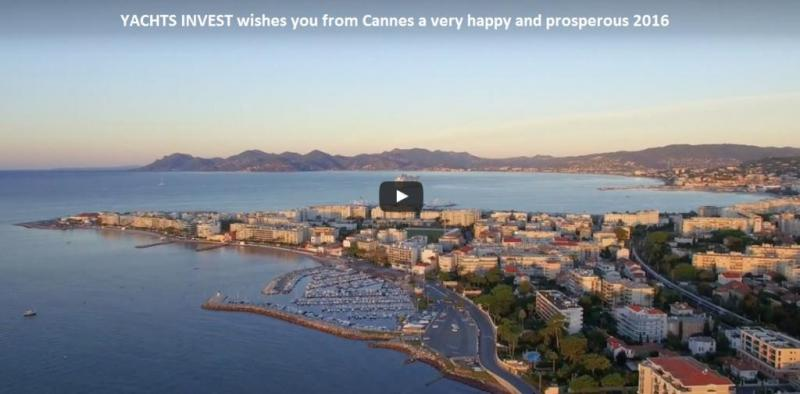 Happy New Year from Cannes. Video