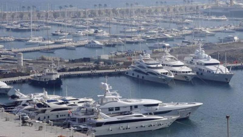 Стоянки яхт и зимовка яхт на Западном Средиземноморье