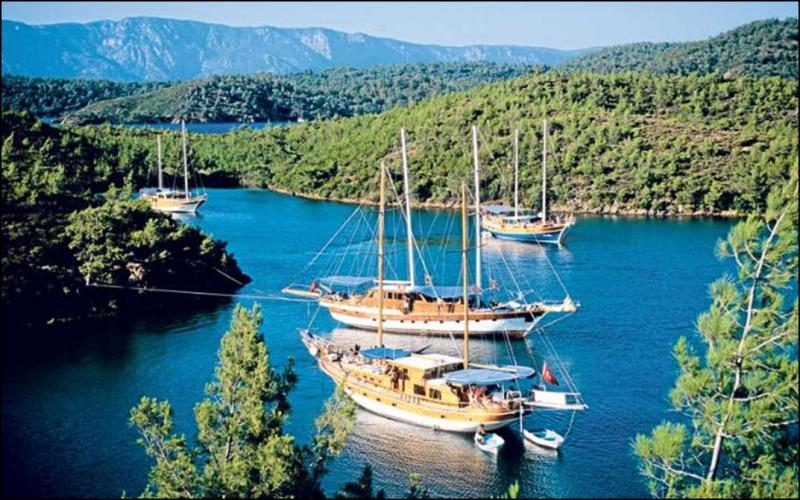 Charter Gulets in the Eastern Mediterranean - Traditional and Affordable Rental Sailing Yachts for Blue Cruises