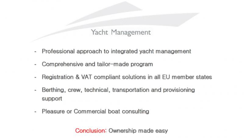 Why choose YACHTS INVEST professional approach to integrated yacht management solutions