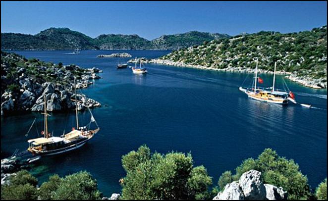 Гулеты в чартер на Восточном Средиземноморье - парусные яхты в аренду для круизов (Blue Cruises)