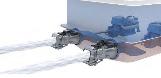 Marine propulsion systems
