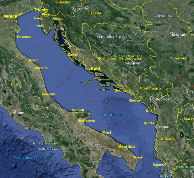 Yacht Charter in the Adriatic Sea