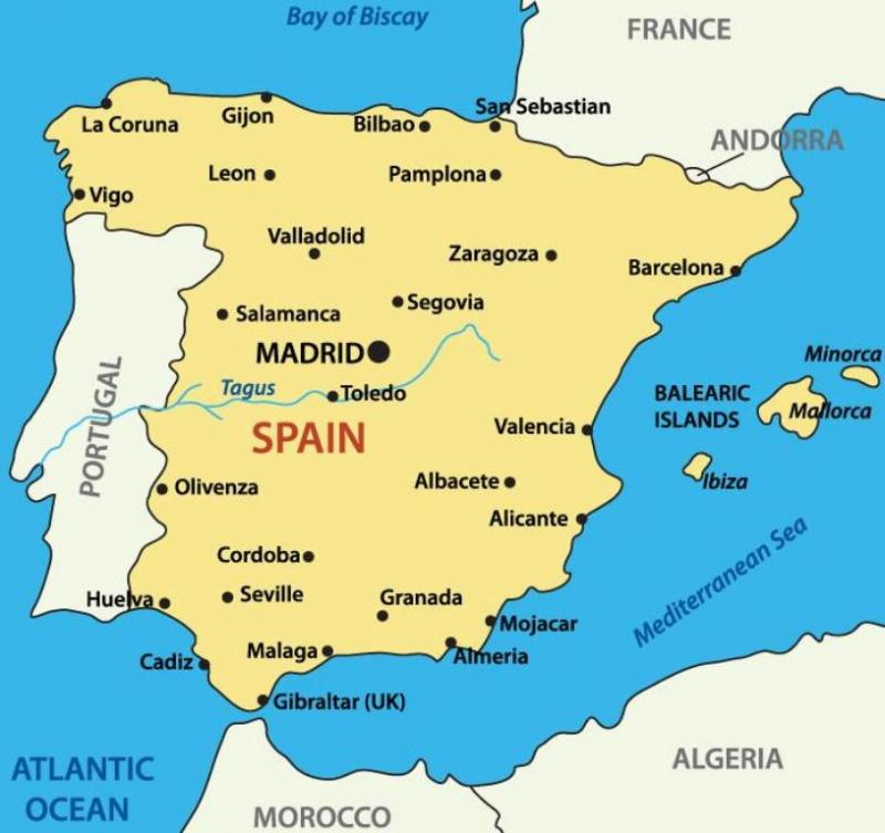 Chartering a yacht in Spain mainland