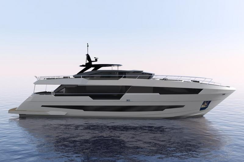 Astondoa 100 Century: New Series Superyacht Launched in July