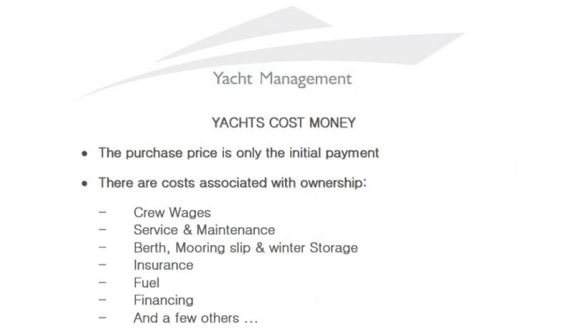 What are the expected costs of owning a yacht in the EU