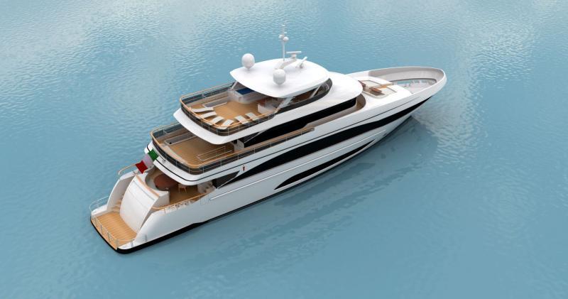 Italia Super Yacht - Nouvelles Frontières dans la Construction de Super-yachts de Luxe