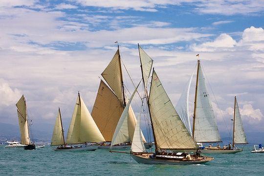 Les Voiles d'Antibes - Panerai Classic Yachts Challenge - Annual Sailing Yacht Regatta