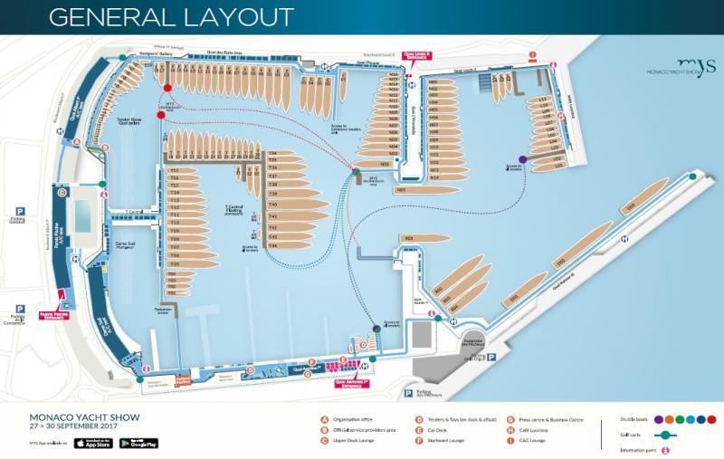 Monaco Yacht Show 2017 (27 au 30 Septembre)