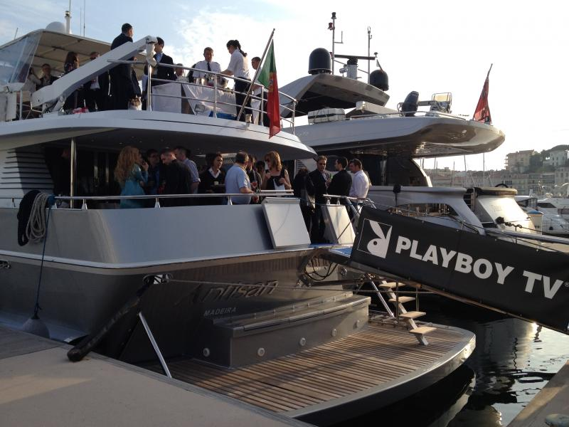 Charter a yacht for events