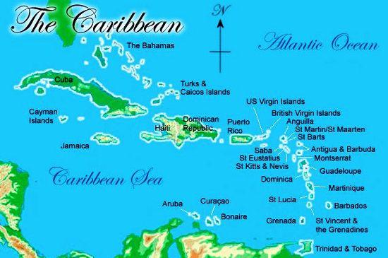 Caribbean Yacht Charter Destination - Renting a Boat in the Antilles