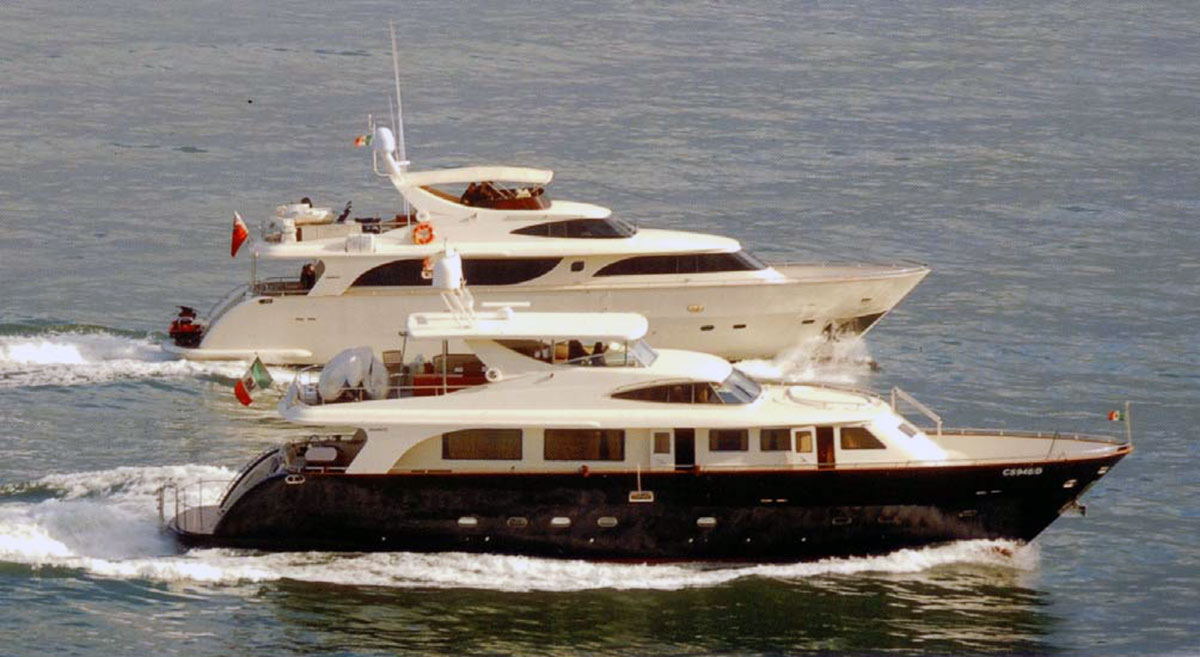 Яхты Gianetti