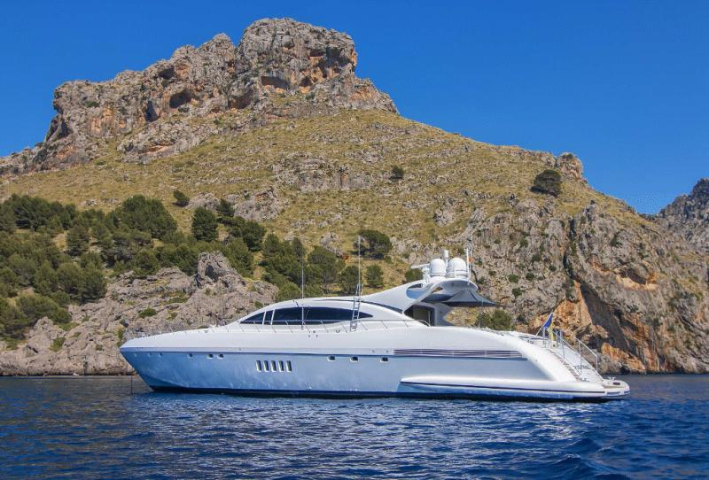 Pre Owned Luxury Yachts French Riviera