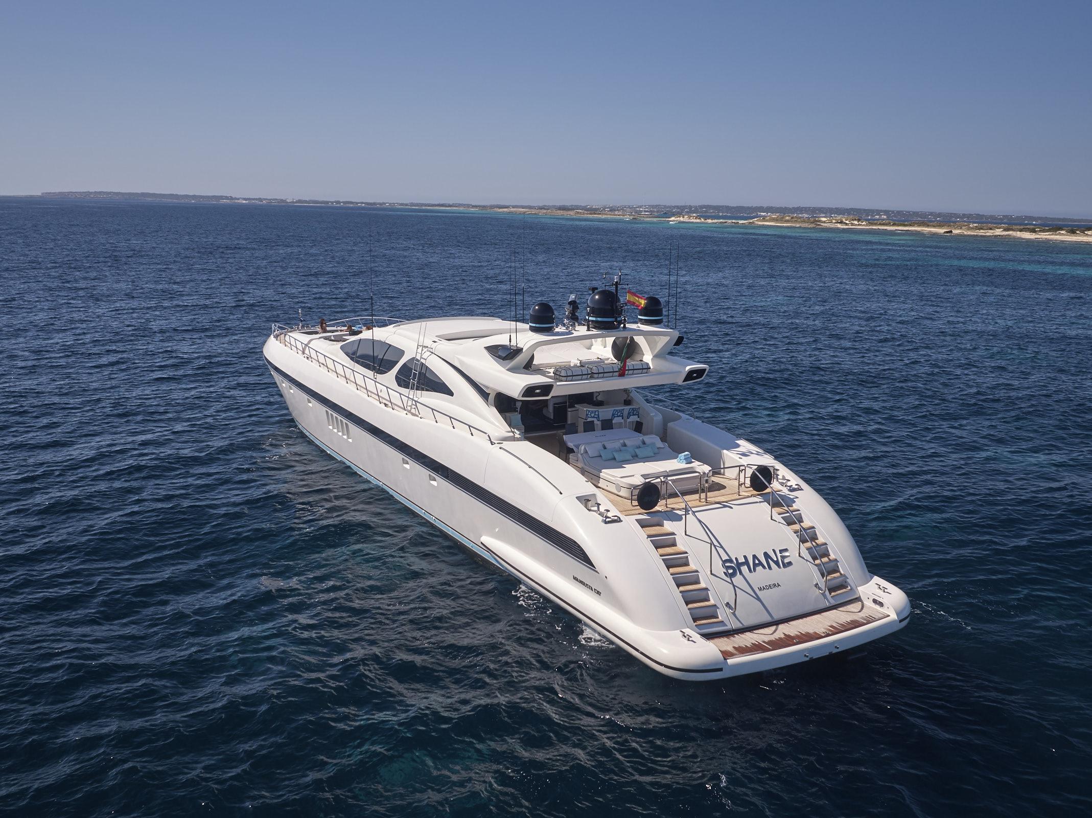 Mangusta 130 Location (Ibiza)
