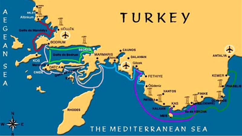 Turkey Luxury Yacht Charter Guide