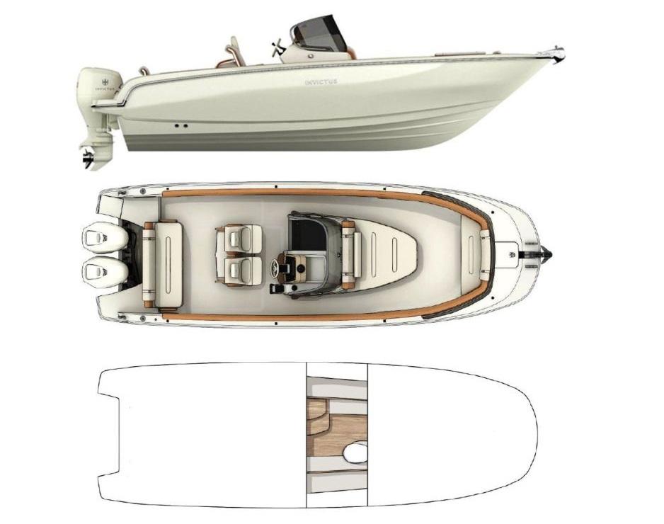 Invictus FX270 Taxi Boat (2019)