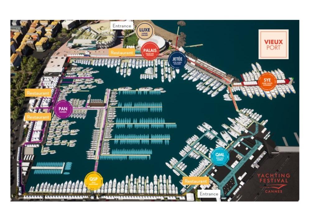 Bateaux proposés par Yachts Invest au Yachting Festival de Cannes 2019