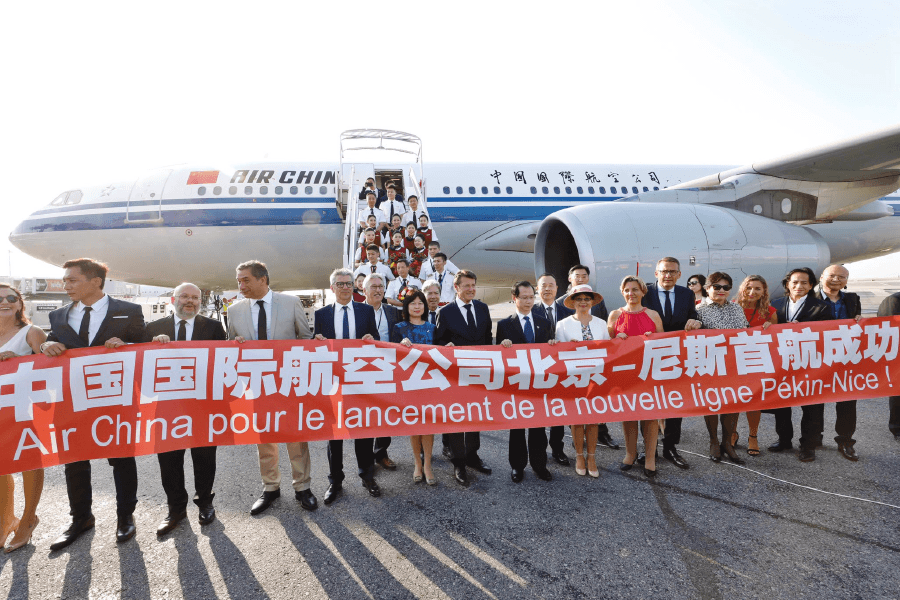 Nice-Beijing Direct Flight to Promote Yacht Charters on the Riviera
