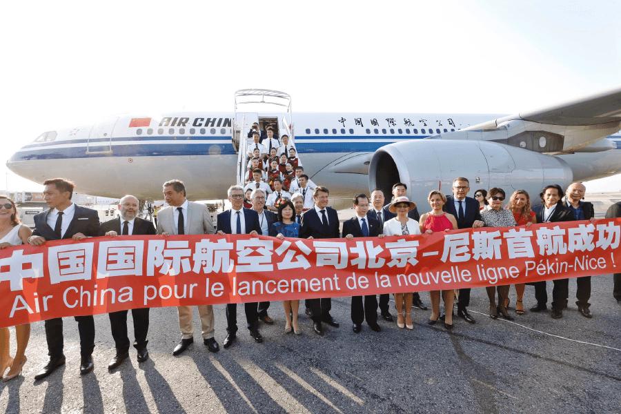 Прямой авиарейс Ницца-Пекин и чартер яхт на Ривьере