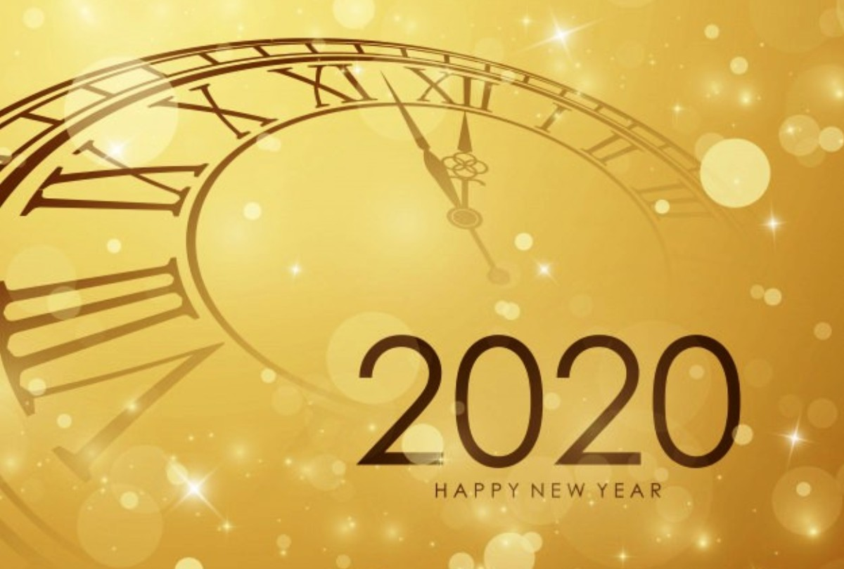 Season's Greetings and Happy New Year 2020