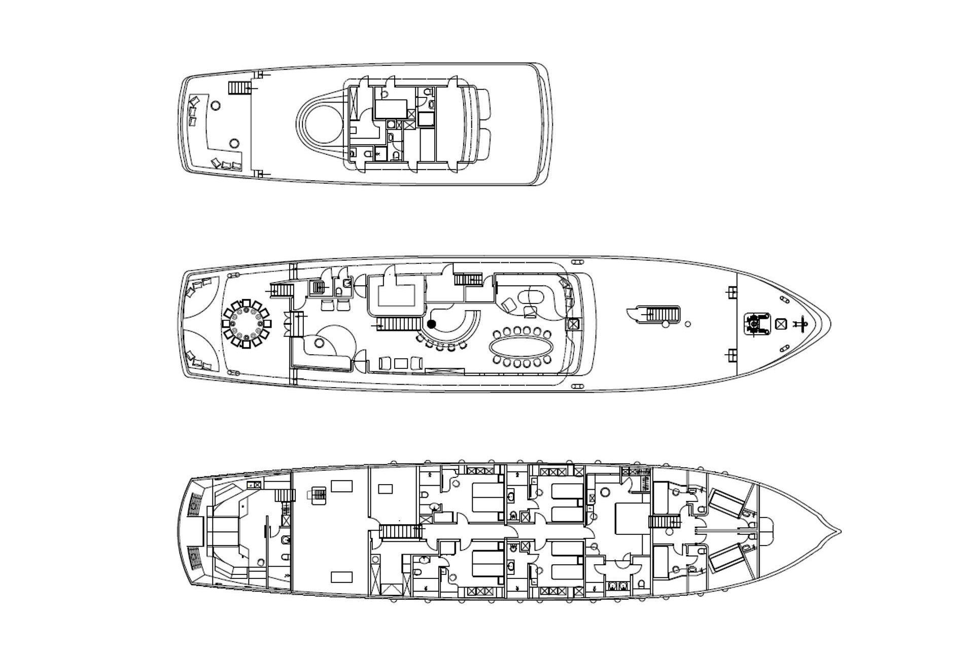 Custom 48m Gulet Corsario