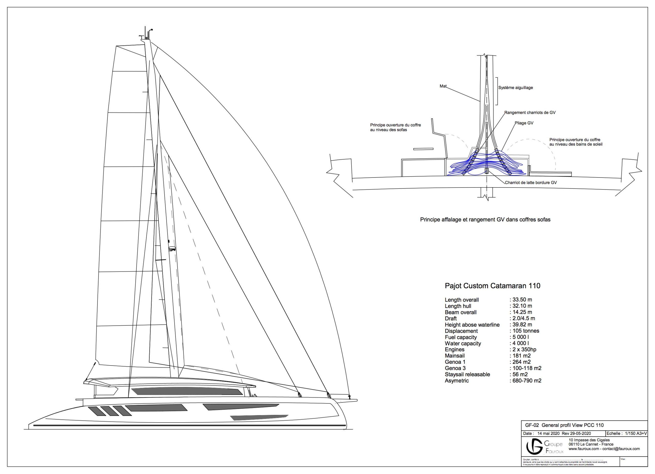 Pajot Custom Yachts 110 Catamaran (Neuf)