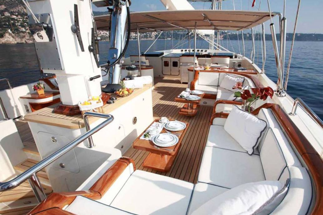 Bank-repossessed Perini Navi 50m Superyacht ARIANE (2000) SOLD by Yachts Invest