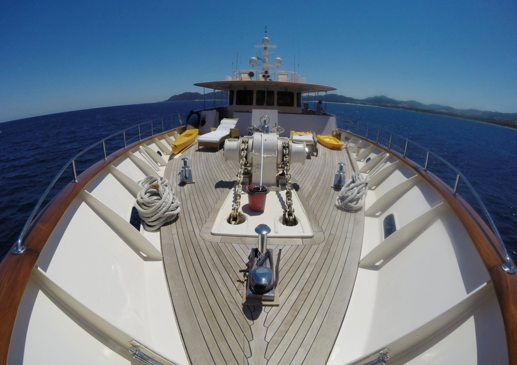 Clelands 130' Classic Expedition Yacht (1967)
