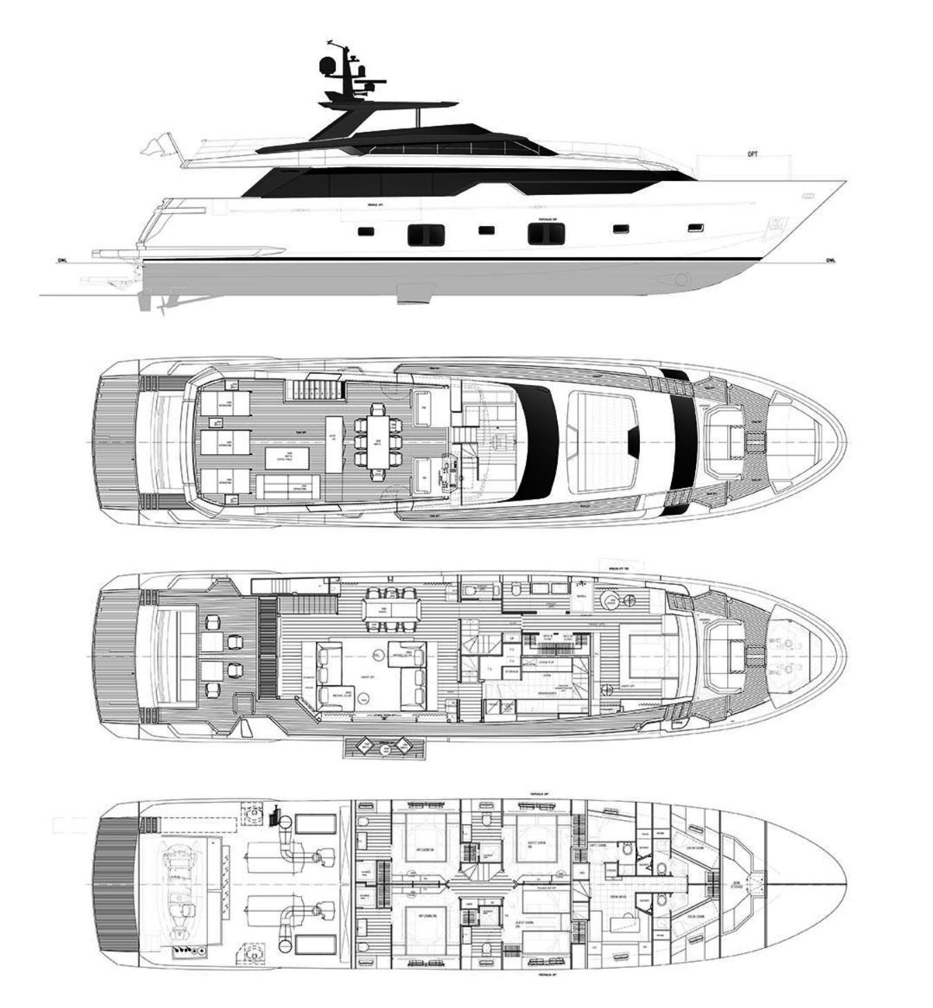 Sanlorenzo SL102 Asymmetric (2020)