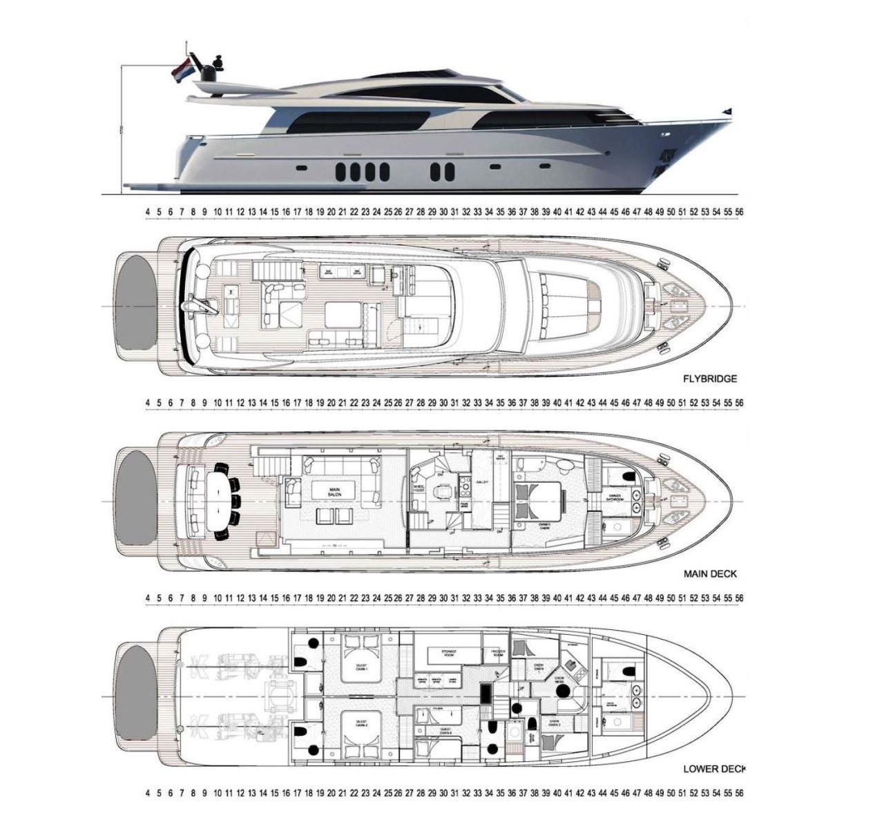 Van der Valk 28m Continental III (2017)