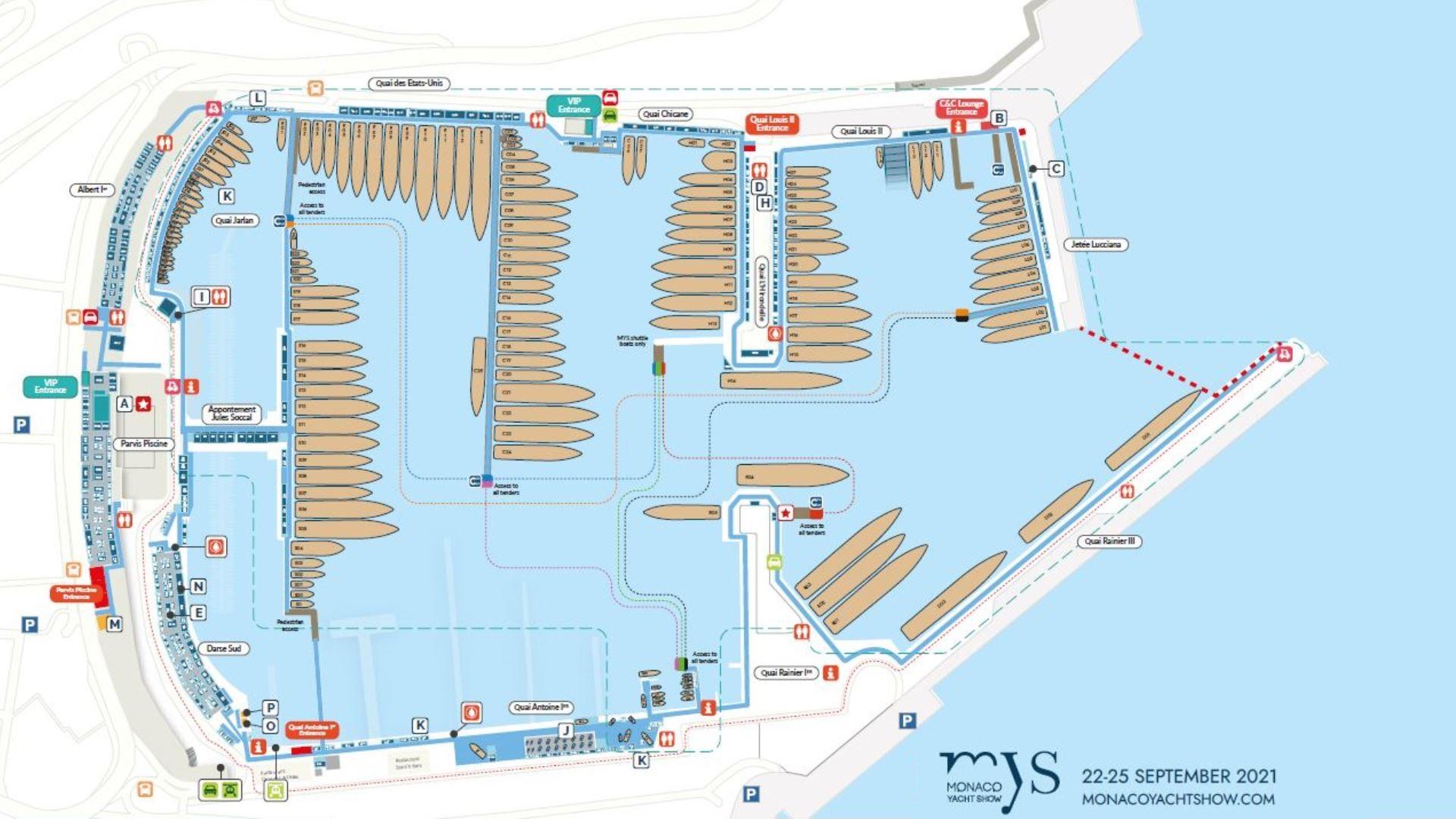Monaco Yacht Show 2021 – 22 au 25 Septembre